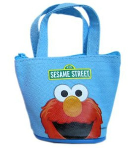 Elmo Coin Purse - Sesame Street Wallet (Blue)