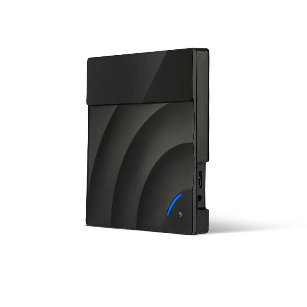 DFGdf Portable Inhalation Touch USB3.0 High Speed Read Disc External Optical Drive Laptop Desktop Universal External DVD Recorder