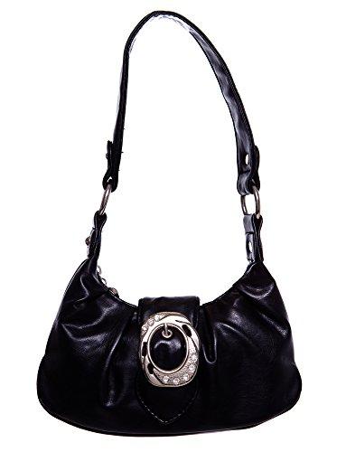 Cute Classical Studded handbag All women Black Handbags by Shoulder Hobo Handbag For 55qxdwrB