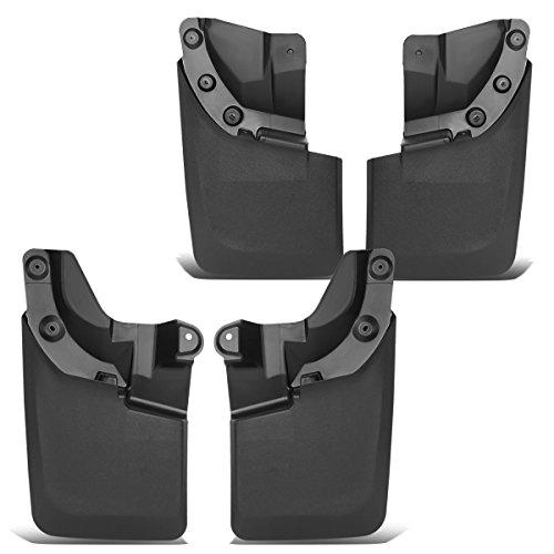 (For Tacoma 4Pcs Front+Rear Wheel Mud Guard Splash Flaps Kit)