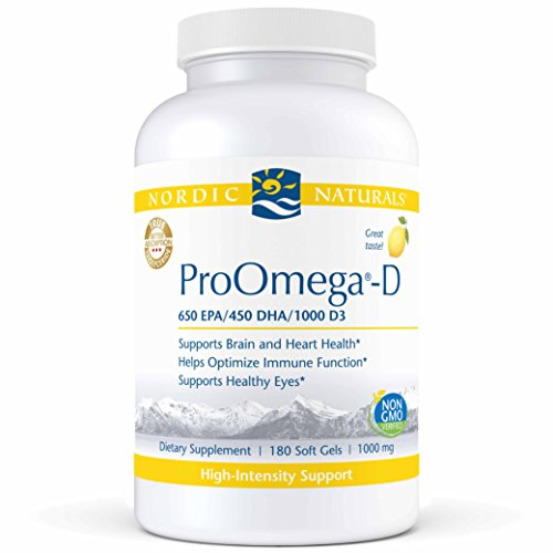 Nordic Naturals – ProOmega D 1000 mg 180 gels Review