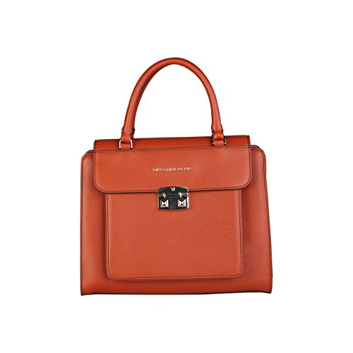 trussardi-woman-orange-handbag