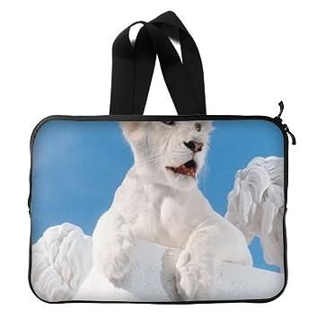 Cachorro de león blanco funda blanda para portátil 13/13,3 Pulgadas para MacBook