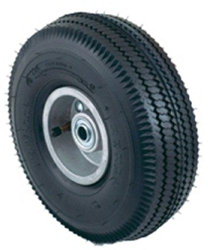 Harper camiones Wh 17neumática 10-Inch por 3–1/2-inch rodamientos de bola Hub carretilla de mano rueda de aluminio