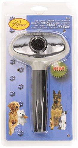 Resco Pro-Series Slicker Brush, Best Mat Remover for Dog, Cat, Pet Grooming, Large