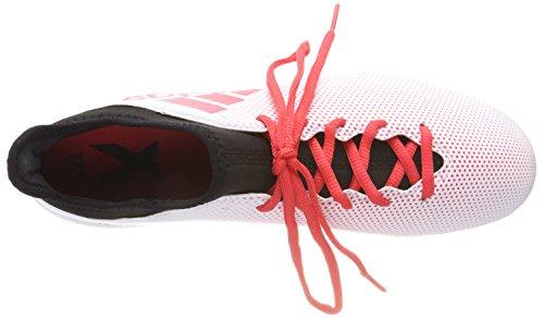 Degli Uomini Di Adidas X 17.3 Scarpe Fg Calcio, Bianco, 16 Eu Multicolore (ftwwht / Reacor / Cblack Cp9192)