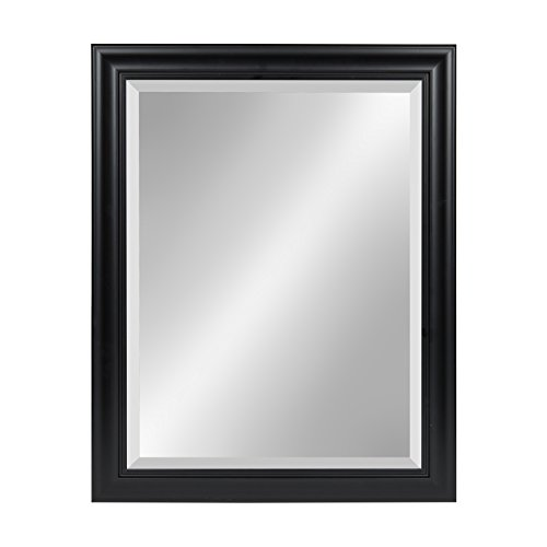 Kate and Laurel Dalat Framed Beveled Wall Mirror, 22x28, -