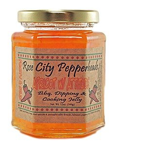 Pineapple Glazed Ham (Apricot With Attitude - Rose City Pepperheads Pepper Jelly, 12 Ounce, With 7 Recipes - Christmas, Hostess, Secret Santa, Birthday, Get Well Gift (Apricot W)