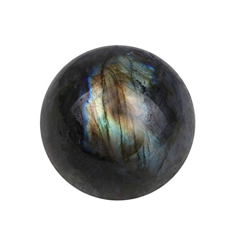 SAQIMA Crystal Ball Natural Labradorite Rose Quartz Amethyst Sphere Healing Citrine New Home Bedroom Fllower Decoration