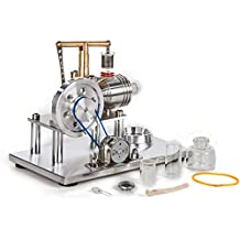 Sunnytech® Hot Air Stirling Engine Model Education Toy Electricity Power SC02M
