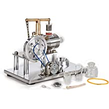 Sunnytech Hot Air Stirling Engine Model Education Toy Electricity Power SC02M