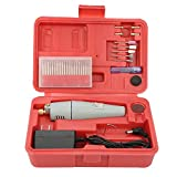 Mini Drill Set Drill Grinder Kit Detachable Electric Grinding Drilling Polishing Tool,US Plug(US Plug)