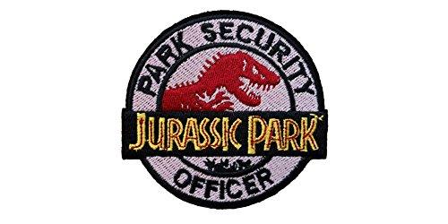 Jurassic Park Ranger Logo Embroidered Patch