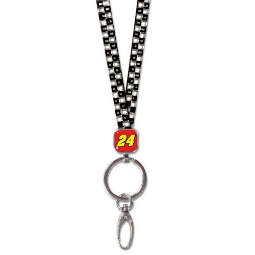 Jeff Gordon Lanyard - Wincraft NASCAR Jeff Gordon Lanyards- Crystal Bling