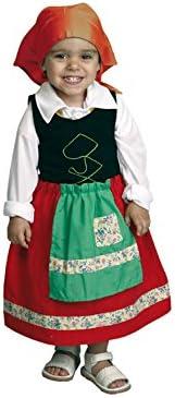 Disfraz de niña Pastora 1-2 años para Navidad: Amazon.es: Juguetes ...