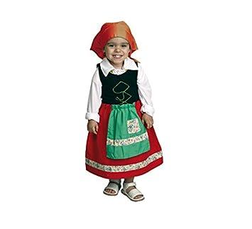 Disfraz de niña Pastora 1-2 años para Navidad: Amazon.es ...