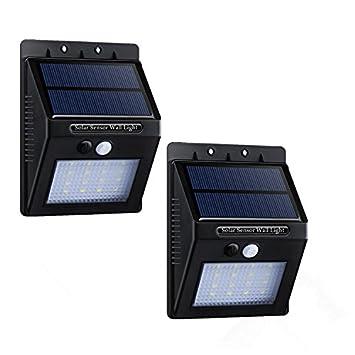 2* PACK]16 LED Lampe solaire Jardin étanche Eclairage exterieur ...