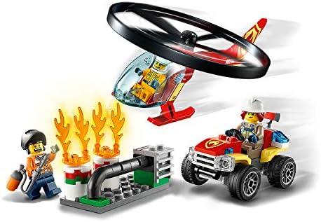 LEGO City 60248 Einsatz mit dem Feuerwehrhubschrauber mit Quad und Motorrad