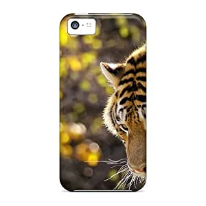 New Arrival Beautiful Tiger JoUfRlG2041liEZI Case Cover/ 5c Iphone Case