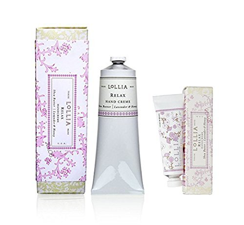 Lollia - Holiday Relax Shea Butter Hand creme Gift Duo  Hand
