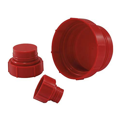 (Threaded Plastic Plugs for Straight Thread O-Ring Ports Plug for 1-5/8-12 Straight Thrd O-Ring Port, PP Red MOCAP OPP1625RD4 (qty200))
