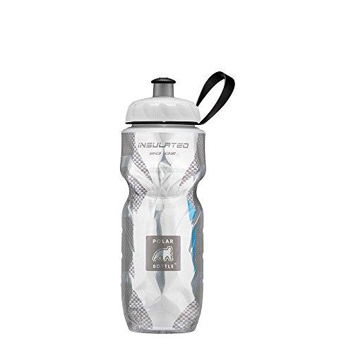 Polar Bottles Sport Insulated Water Bottle Black Pattern 20Oz Bike