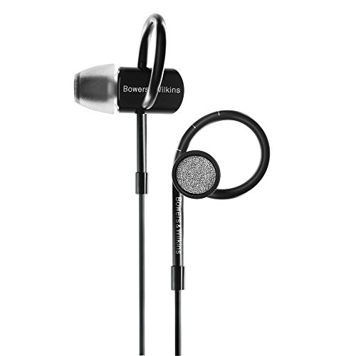 Bowers & Wilkins C5 Series 2 In-Ear Headphones, Secure Fit, Black