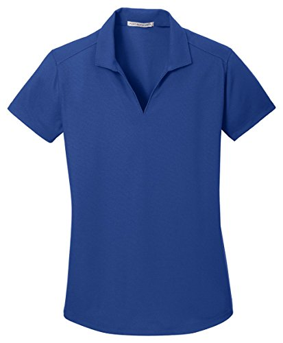 Port Authority Ladies Dry Zone Grid Polo, True Royal, Small
