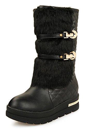 Chaussures Femme Neige Aisun Confort Fourr De q8wqESdUx