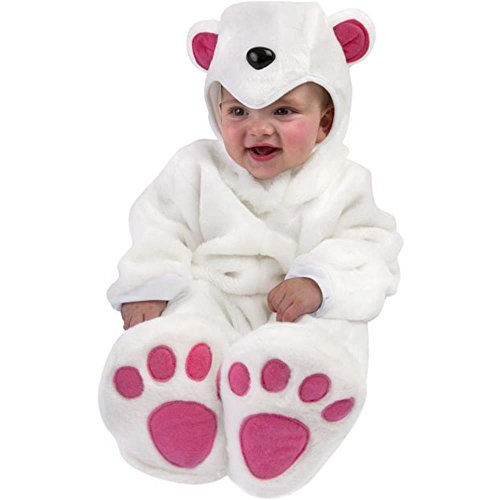Unique Baby Infant Polar Bear Costume (12-18 Months)