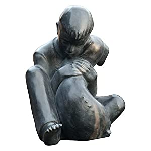 Boy and Dog Statue Based on Sylvia Shaw Judson Sculpture - Bronze
