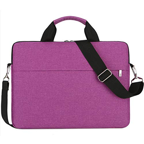 14-15 Inch Laptop Sleeve Case Shoulder Bag Women Girls Notebook Bag for HP Chromebook 14,Acer Chromebook 14/Acer Aspire 14,HP Steam 14,Lenovo Yoga 910/920, Dell, LG, ASUS, 14 inch Laptop Case,Rose Red (Hp Stream Notebook Cases)
