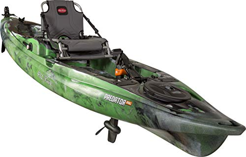 Old Town Canoes & Kayaks Predator PDL Fishing Kayak with Rudder (Lime Camo, 13 Feet 2 Inches)
