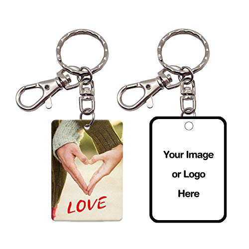 Pearl Pix Custom Key Chain, Personalized Photo Key Chain, Double Side, 1.5