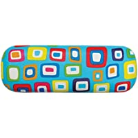 Children's Small Hard Shell Eyeglass Case, Kid's Glasses Case, Colorful Squares