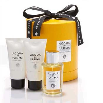 Acqua Di Parma Colonia Assoluta Cologne Shower Gel Body Cream Mini Travel gift Set
