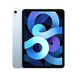 2020 Apple iPadAir with A14 Bionic chip (10.9-inch/27.69 cm, Wi-Fi, 64GB) – Sky Blue (4th Generation)