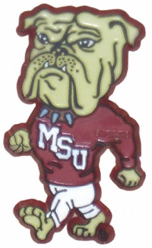 NCAA Mississippi State Bulldogs 2D Magnet with Bulldog Logo - Mississippi State University Magnet