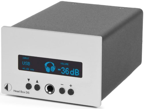 Pro-Ject Audio - Head Box DS - D/A Converter and Headphone Amp - Silver by Pro-Ject