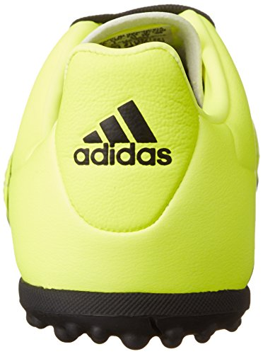 adidas Ace 16.3 Tf J Leather, Botas De Fútbol para Niños Amarillo (Amasol / Negbas / Plamet)