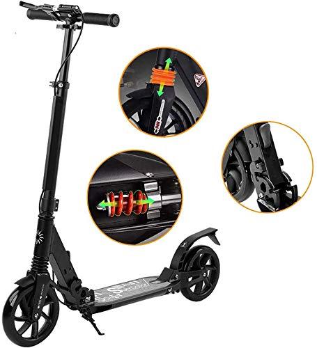 Scooter Para Adultos Rueda Grande, Diseño Plegable, Sistema ...