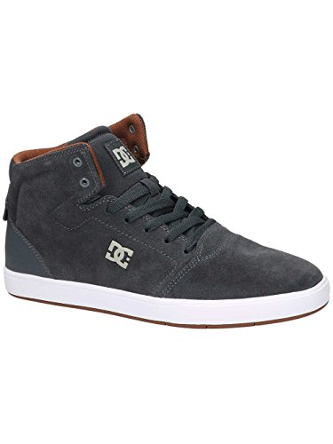DC Shoes Crisis High M, Sneaker Alta Uomo Gris - Grey/White