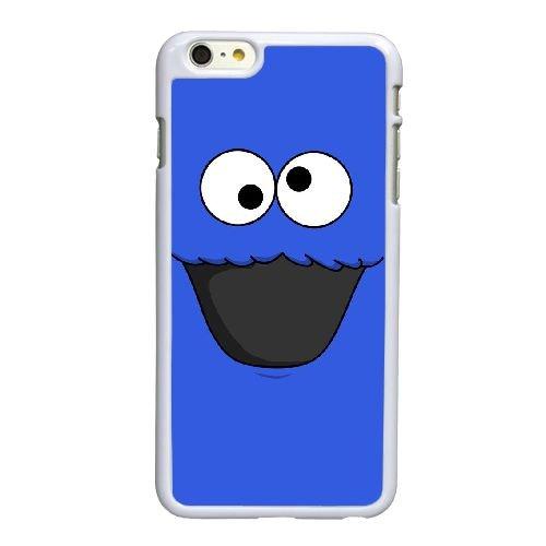 C1F72 Cookie Monster U5S4TD coque iPhone 6 Plus de 5,5 pouces cas de couverture de téléphone portable coque blanche DJ0LOV6FI