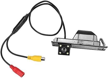 KIMISSカーリバースカメラ、HDカー170°ワイヤレスリアビューカメラバックアップカメラIP67、Corsa D 2006-2015に適合した4LEDライト付き