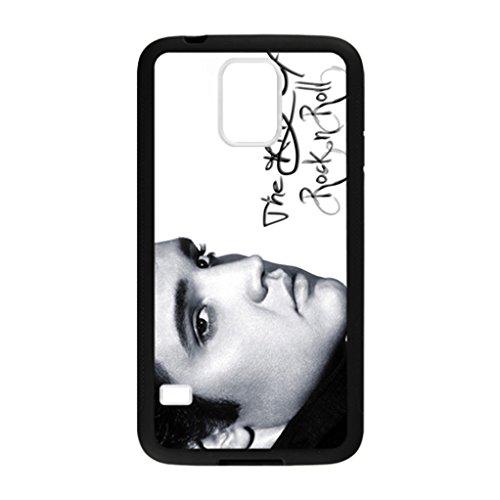 Elvis Elvis Presley The King of Rock n Roll Pattern Image Case Cover Hard Plastic Case for Samsung Galaxy S5 i9600 Regular