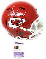 Patrick Mahomes Kansas City Chiefs Signed Autograph Speed Full Size Helmet  JSA Certified a6cb02835