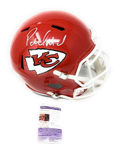 - Patrick Mahomes Kansas City Chiefs Signed Autograph Speed Full Size Helmet JSA Certified
