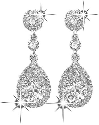 Femmes Mode élégante Boucles D/'oreilles Clous d/'oreille cristal strass bijoux arbre vert