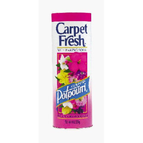 Carpet Fresh Rug and Room Deodorizer with Baking Soda, Country Potpourri Fragrance, 14 OZ