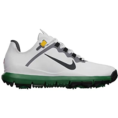 Nike TW  13 LIMITED-EDITION Men s Golf Shoe Size 12 White-green f1b933926fd2